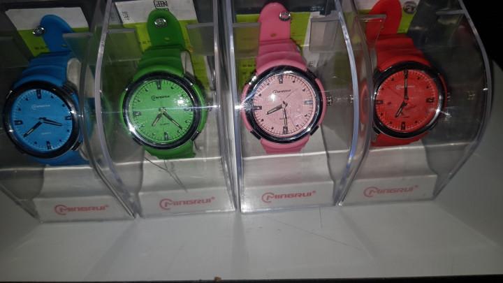Mingrui Digital Watch - Pink