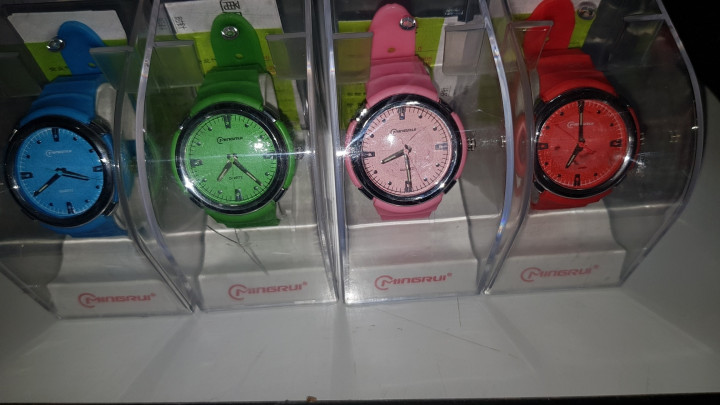 Mingrui Digital Watch - Red