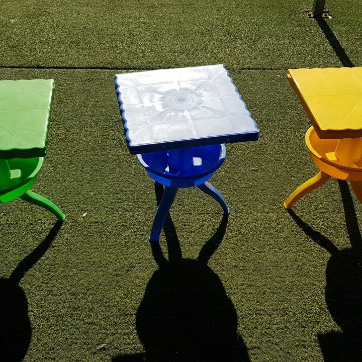 Small Tables - blue