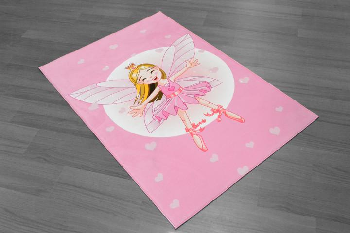 Fairy kids carpet -  Micro Polyester Fabric - 100X150cm