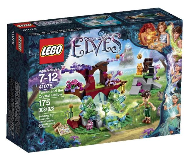 LEGO Elves Farran and The Crystal Hollow 41076