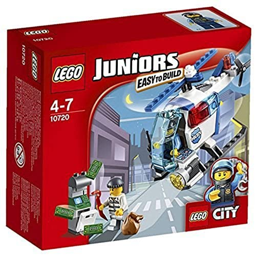 LEGO Juniors 10720 Police Helicopter Chase – Multi-Coloured