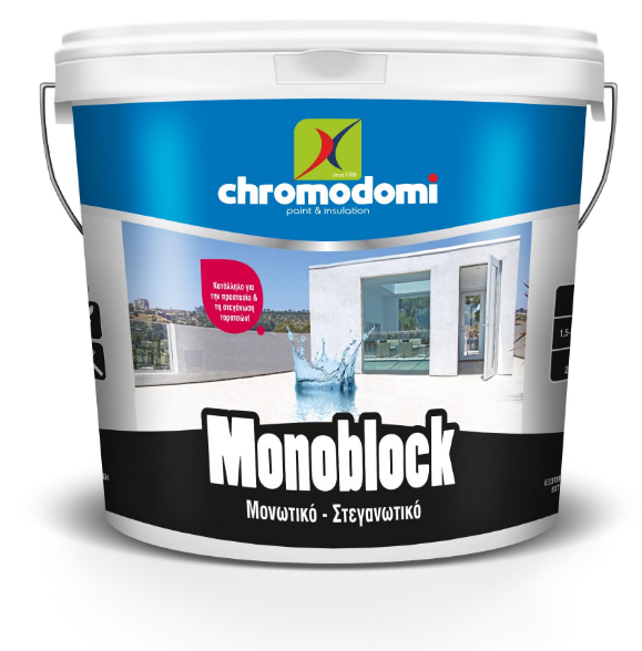 MONOBLOCK (economical roof insulation - waterproofing) 9Ltr - White