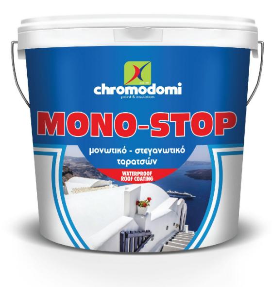 MONOSTOP (roof insulation - waterproofing) 10Ltr - Maroon