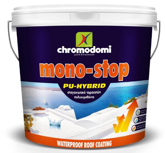 MONOSTOP PU HYBRID (polyurethane roof insulation) 10Ltr - White
