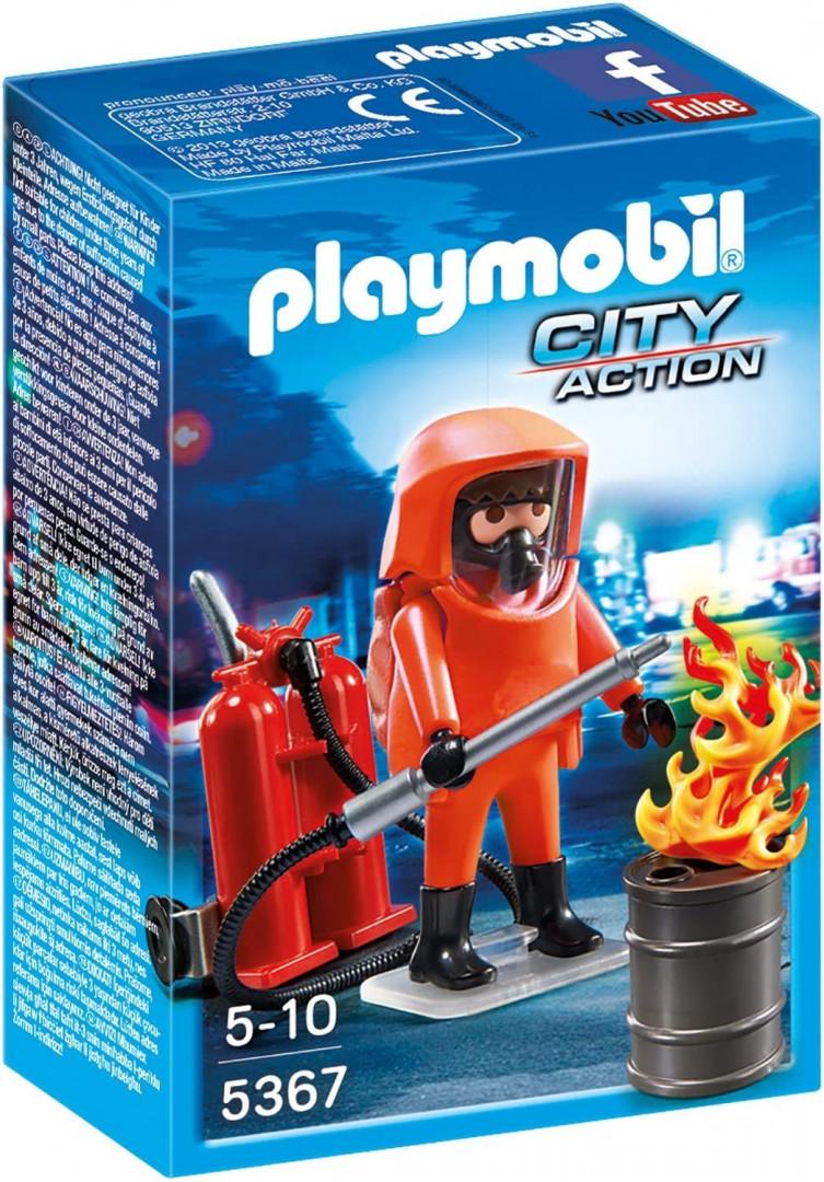Playmobil 5367 Fire Brigade Special Insert, 10 x 5 x 15 cm