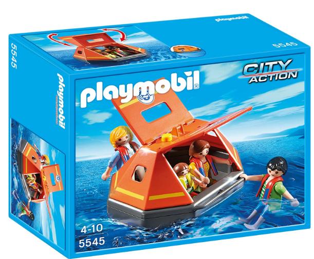 Playmobil 5545 City Action Coastguard Life Raft