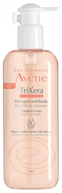 Avene Trixera Nettoyant Nutrition-fluid 400ml