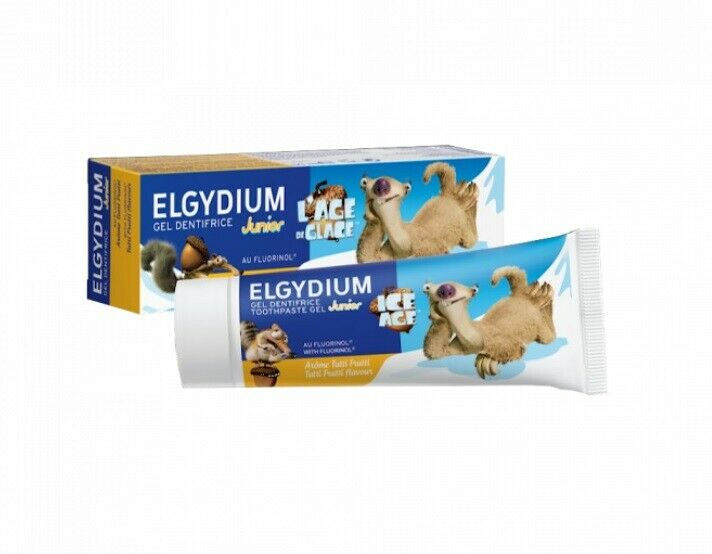 Elgydium Junior Tutti Frutti Toothpaste - 50ml
