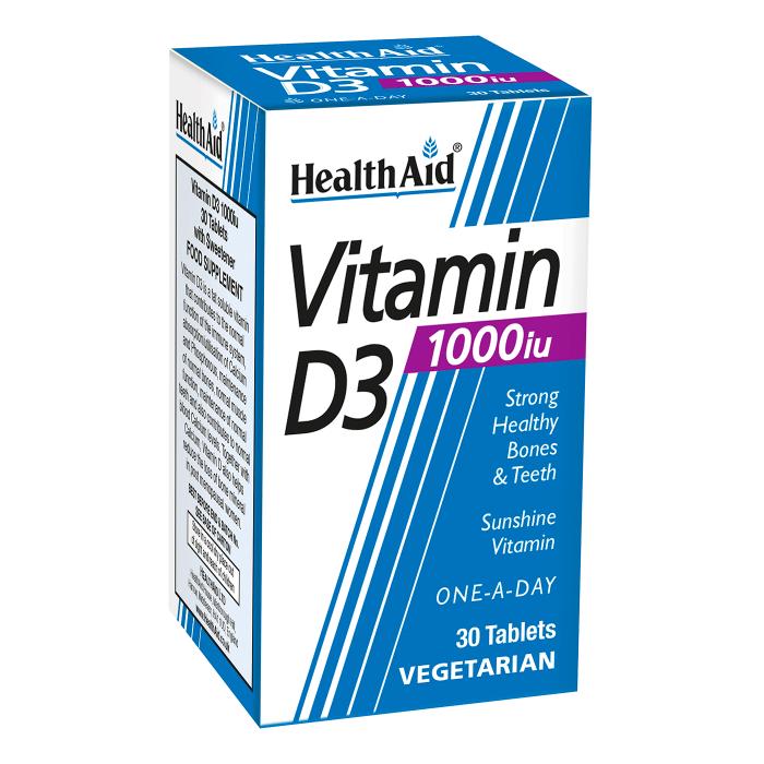 Health Aid Vitamin D3 10000iu - 30 capsules