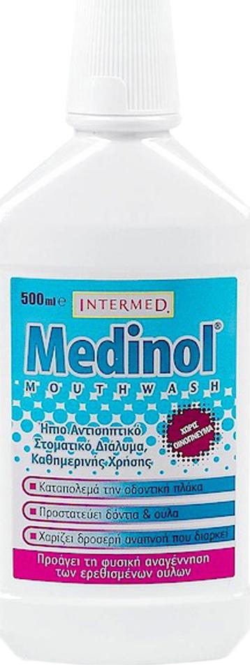 Medinol Mouthwash Liquid - 500ml