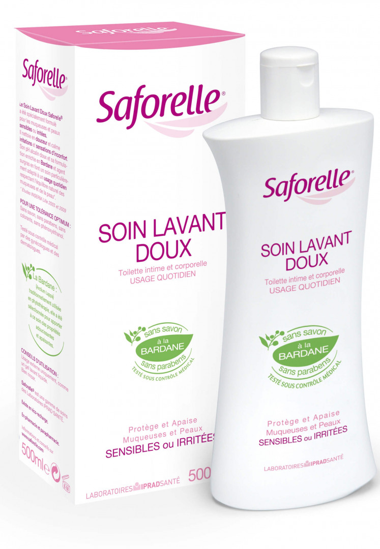 Saforelle Cleansing Care Daily Liquid - 500ml
