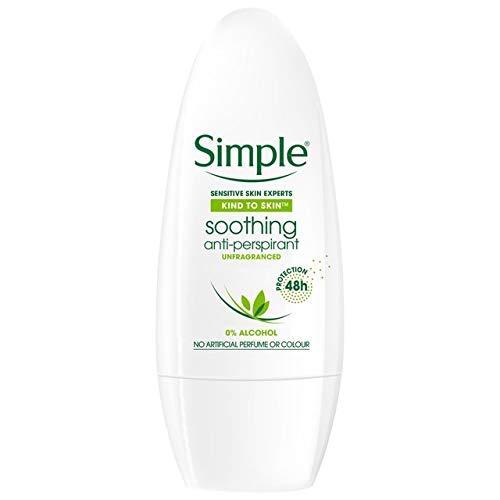 Simple Anti - Perspirant Sensitive Roll on - 50ml