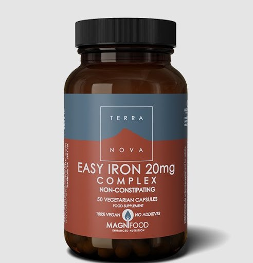Terranova Easy Iron 20mg - 50 capsules