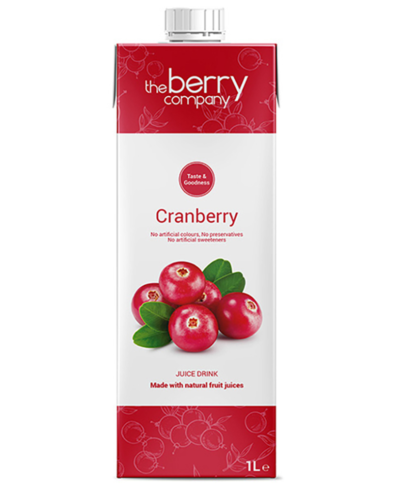 THE BERRY COMPANY CRANBERRY JUICE 1L