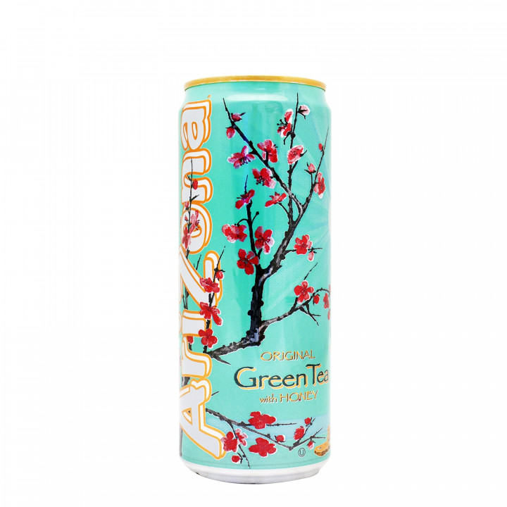 ARIZONA GREEN TEA WITH HONEY 330ml