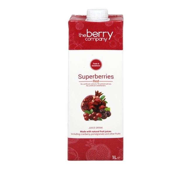 THE BERRY COMPANY SUPERBERRY RED JUICE 1L