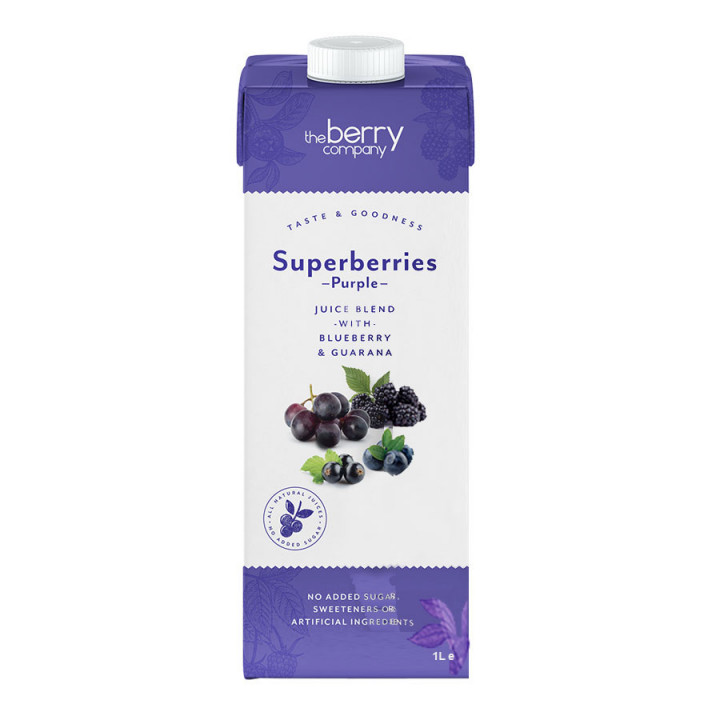 The Berry Company Superberries Purple Juice 1L