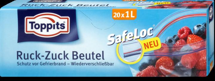 TOPPITS SAFELOC ZIP BAG 1L