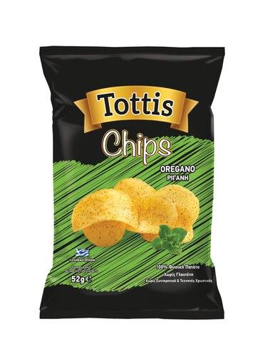TOTTIS CHIPS OREGANO 52G