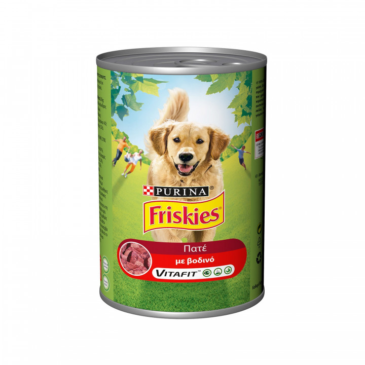 FRISKIES PATE WITH BEEF 400G