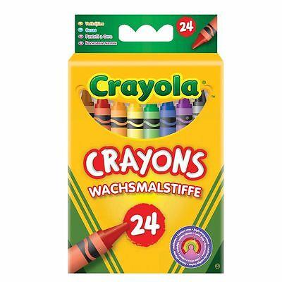 CRAYOLA WAX CRAYIONS SET OF 24