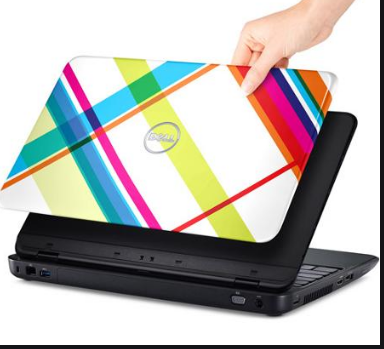 dell inspiron cover - big giant plaid