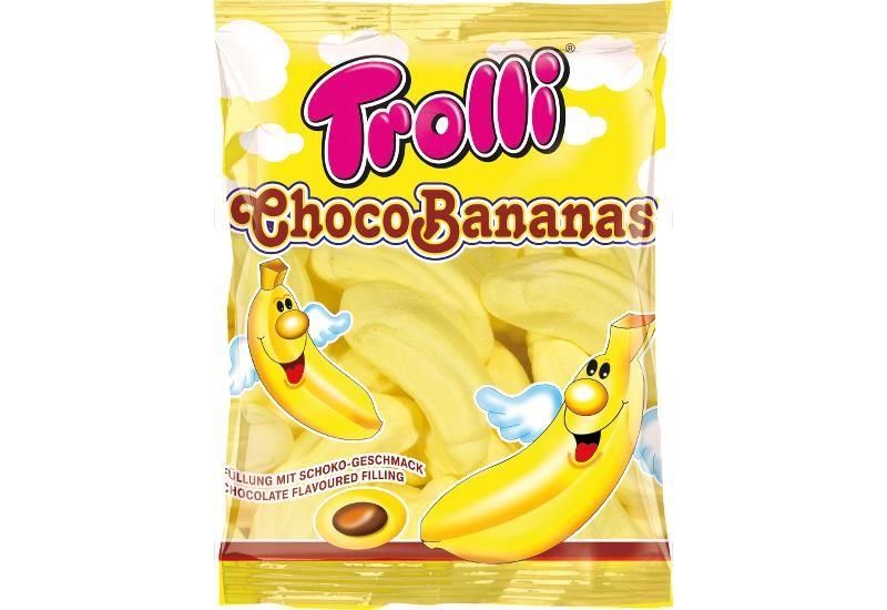 TROLLI CHOCO BANANAS MALLOW 150G