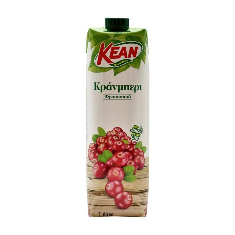 KEAN CRANBERRY FRUIT DRINK 1L