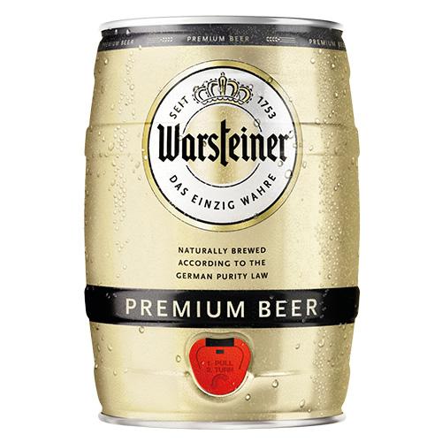 WARSTEINER PREMIUM BEER 5L