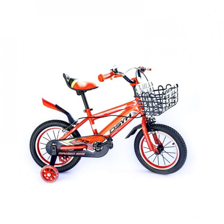 Orange Kids Bicycle - 14 inches