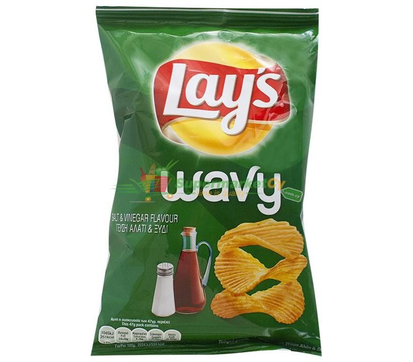 Lays Wavy Salt&Vinegar 47g