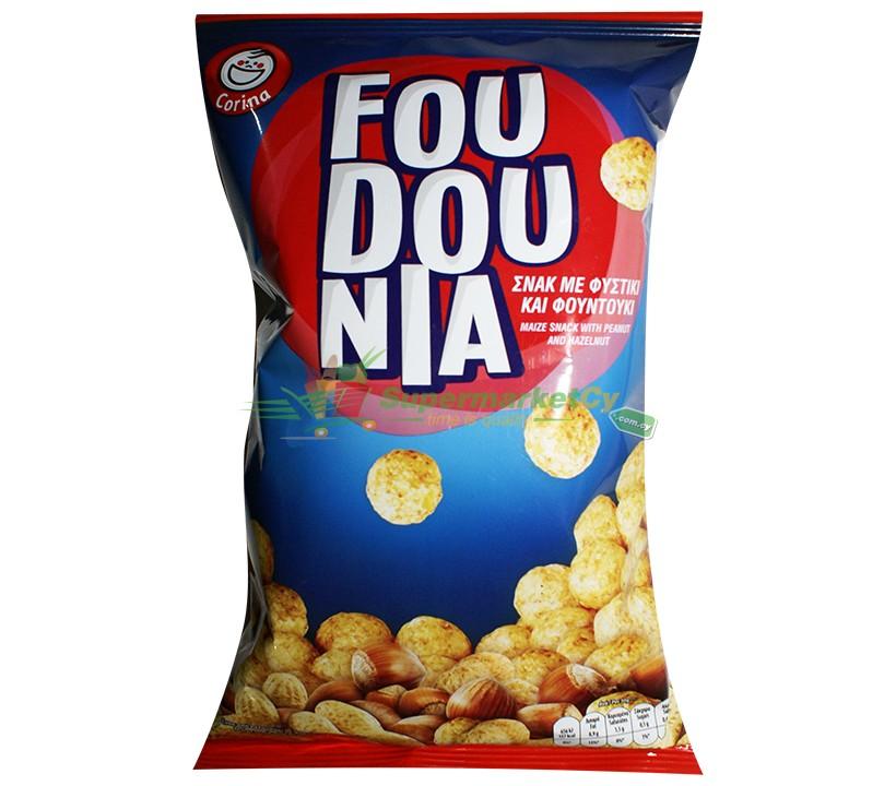 Foudounia Maize Snack with Peanut & Hazelnut 40g