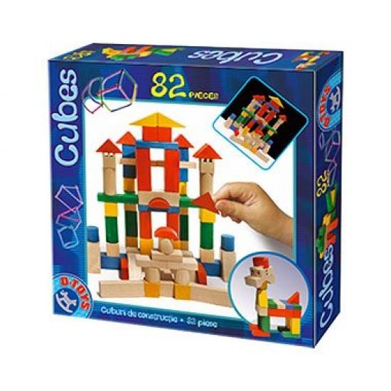BUILDING BLOCKS 82 PCS
