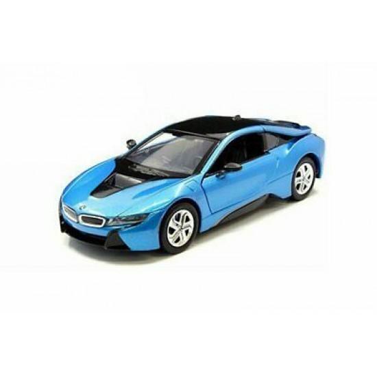 1:24 2018 BMW I8 COUPE - PROTONIC BLUE