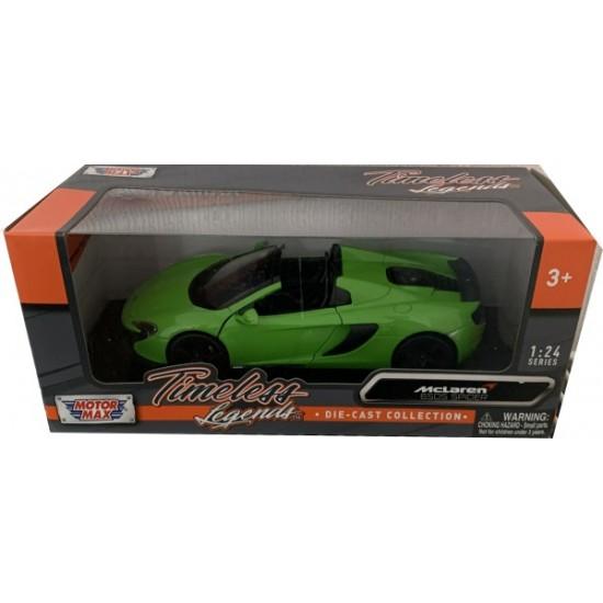 1:24 MCLAREN 650S SPIDER MANTIS GREEN