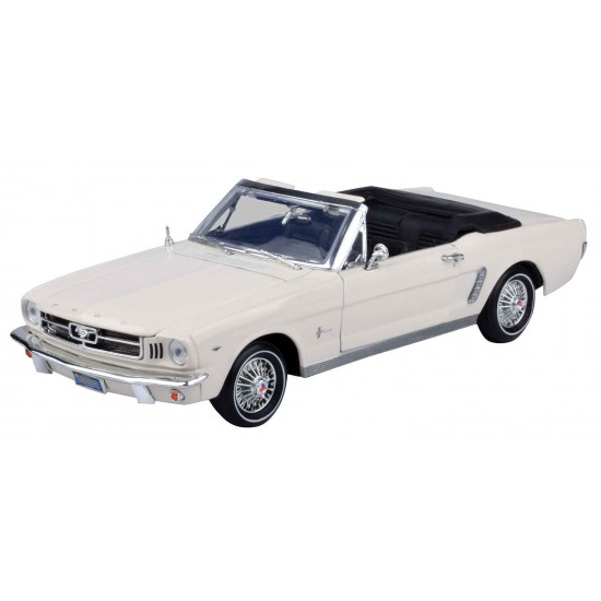 1:18 1964 1/2 FORD MUSTANG (CONVERTIBLE) - White