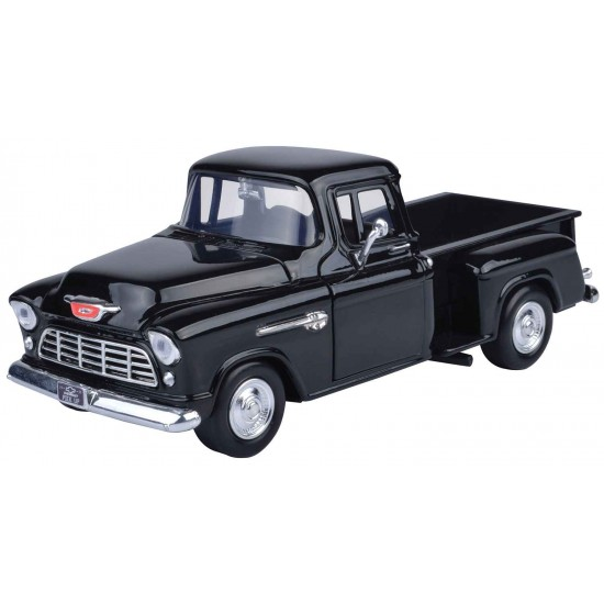 1:24 1955 CHEVY 5100 STEPSIDE - BLACK