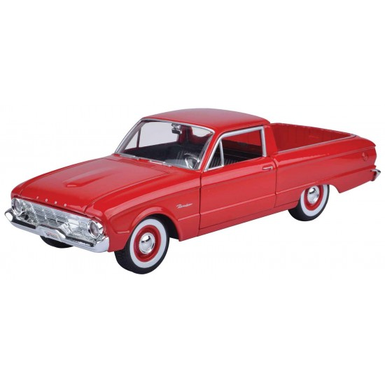 1:24 1960 FORD RANCHERO - Red