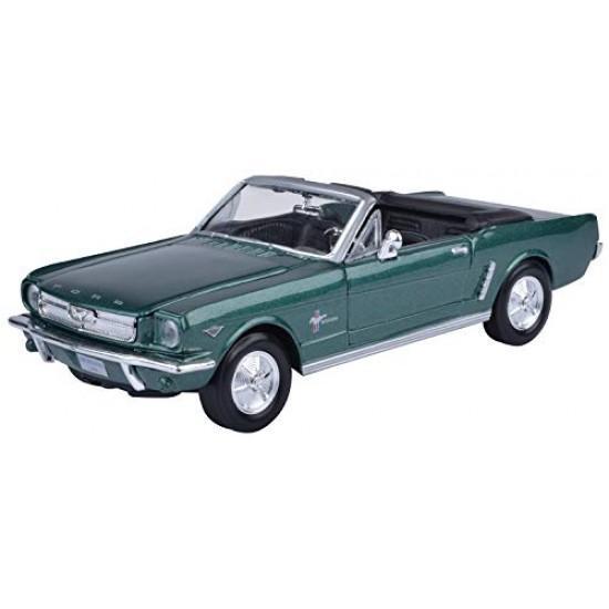 1:24 1964 1/2 FORD MUSTANG (CONVERTIBLE) - Metallic Green