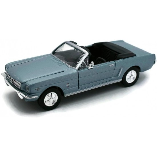 1:24 1964 1/2 FORD MUSTANG (CONVERTIBLE) - Light Blue