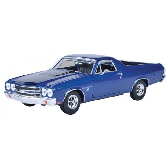 1:24 1970 CHEVY EL CAMINO SS 396 - Metallic Dark Blue