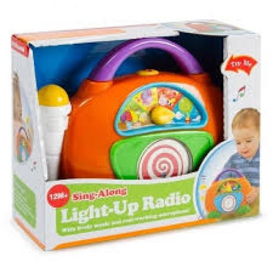 SING-ALONG LIGHT-UP RADIO