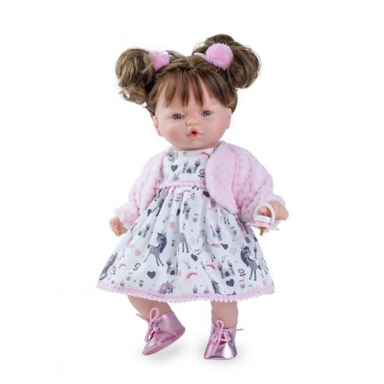 NINES PINK Doll - Brunette