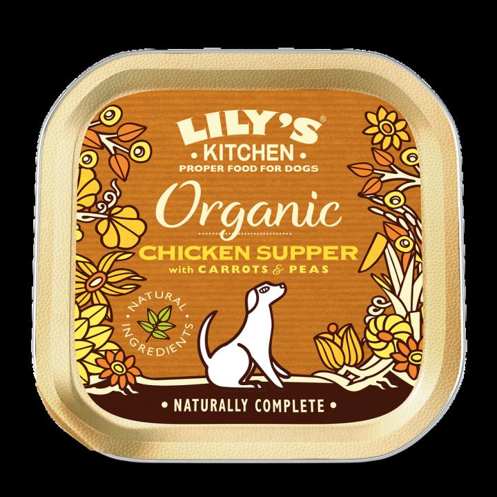 LILY'S KITCHEN - ORGANIC CHICKEN SUPPER 150GR