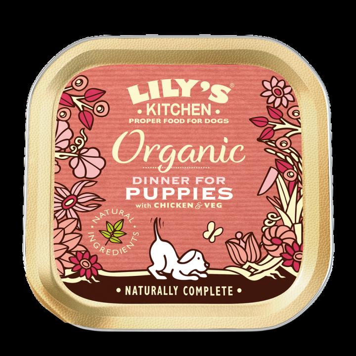 LILY'S KITCHEN - ORGANIC PUPPY DINNER 150GR