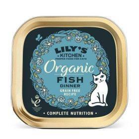 LILY'S KITCHEN - ORGANIC FISH DINNER 85GR