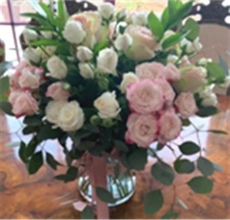 Mini Rose Vase Arrangement