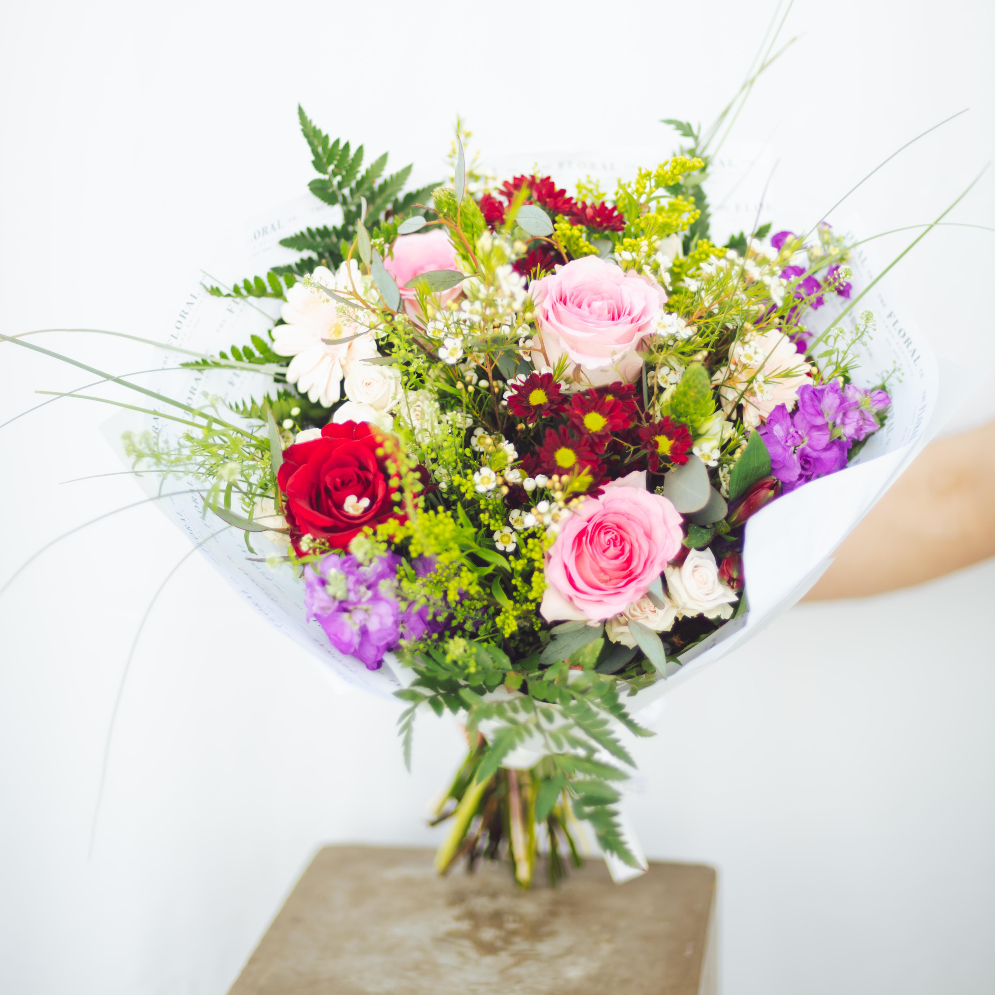 Fresh Colourful Flower Bouqet