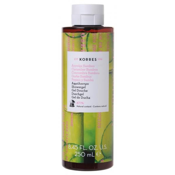 Korres shower gel cucumber bamboo 250ml